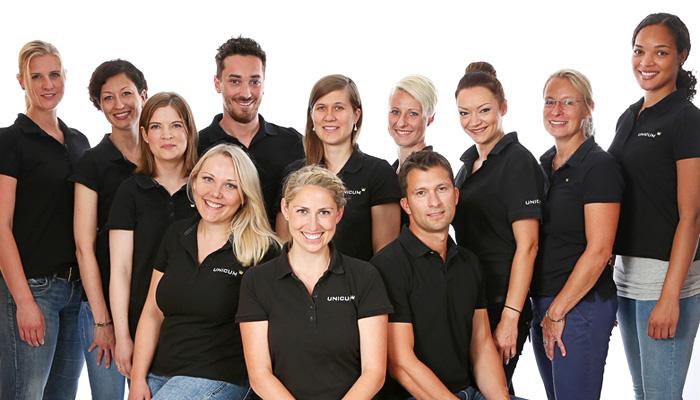 Das UNICUM Stuttgart verfügt über hoch qualifizierte und kompetente Phsyiotherapeuten sowie ein freundliches und herzliches Praxis-Team.