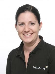 Yvette Feurich - Physiotherapeutin im UNICUM Stuttgart.