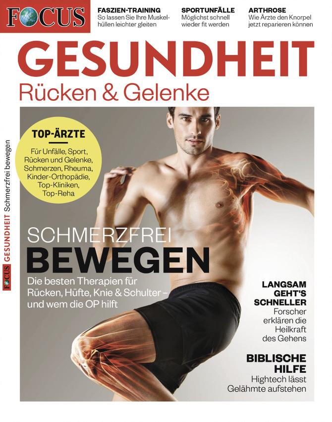 FOCUS Gesundheit - Rücken & Gelenke 2019