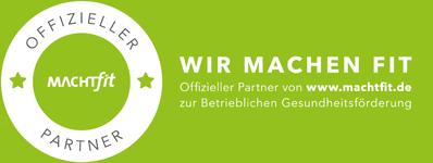 Die Physiotheraputen von UNICUM Stuttgart sind offizieller Partner von MachFit - Betriebliche Gesundheitsförderung.